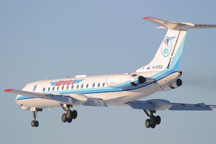 Авиакомпания «Ямал» базируется в аэропорту Салехарда