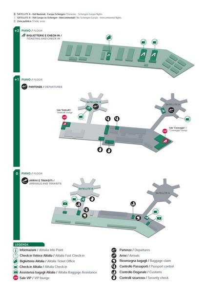 Схема аэропорта Лондон-Сити