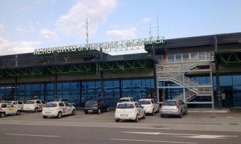 Аэровокзал города Вероны, вид снаружи