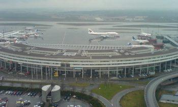 Как выглядит международный аэровокзал швейцарской столицы, вид сверху