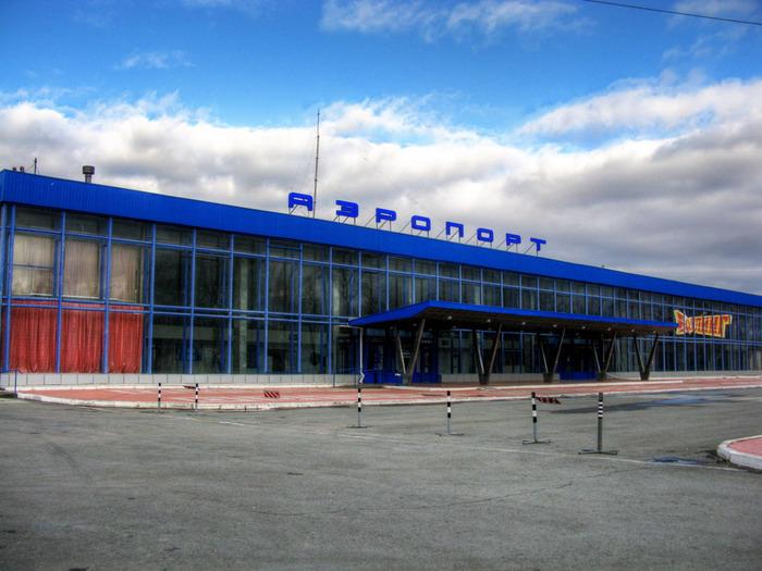 Центральный вид на аэропорт
