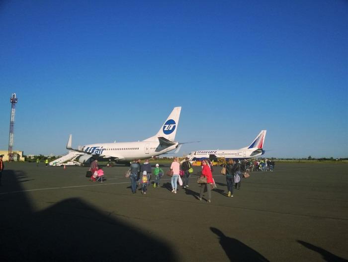 Самолеты разных компаний