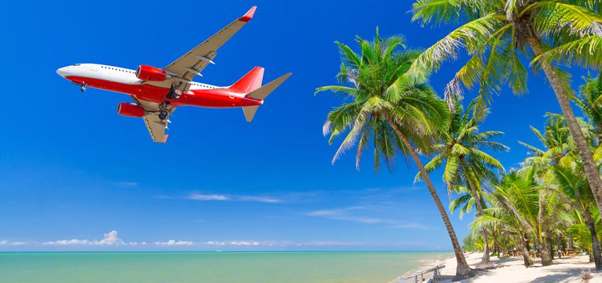 В Доминикану большинство людей попадает авиалайнерами