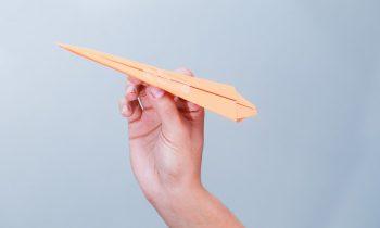 Бумажный самолётик