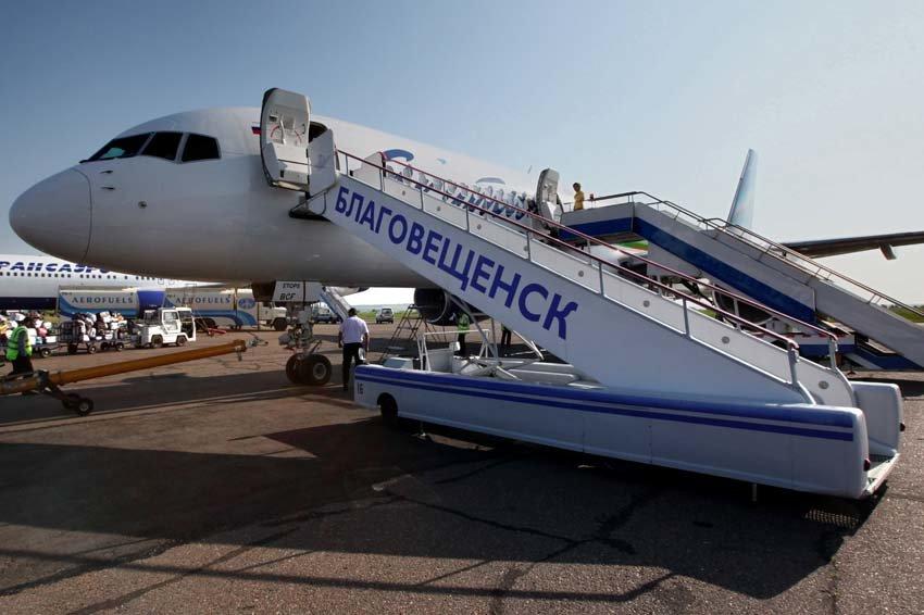 Из аэропорта Благовещенск выполняют полеты более десятка авиакомпаний