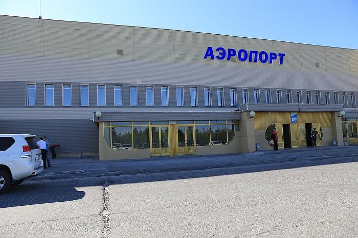 Парковка рядом с терминалом