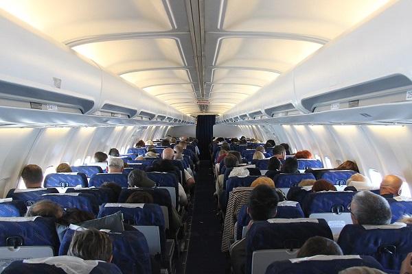 Полет на обычном пассажирском самолете