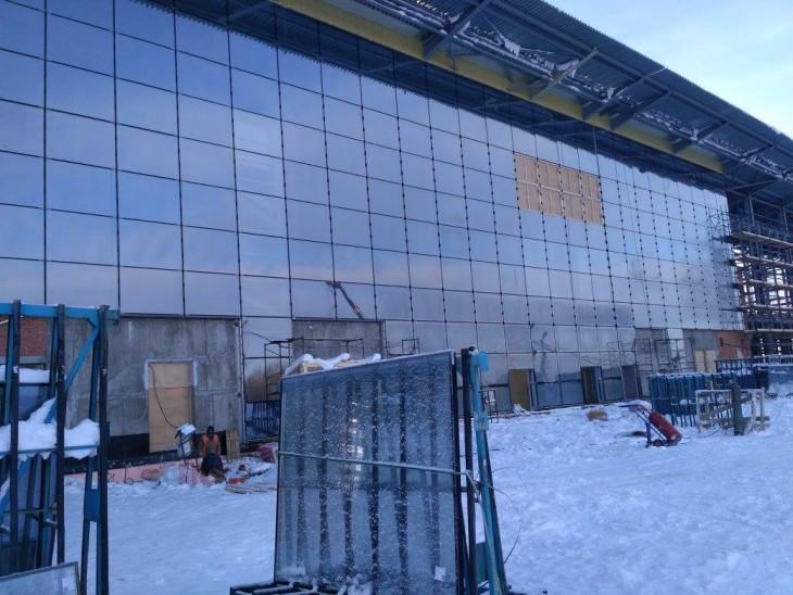 Строительство нового терминала идет полным ходом