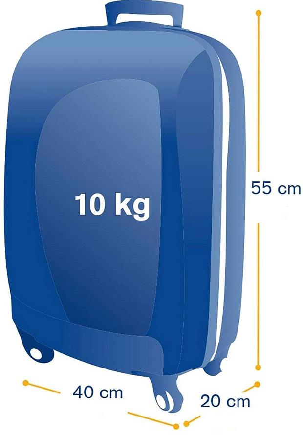 Размер ручной клади