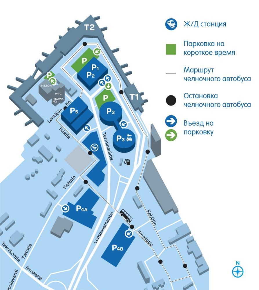 Схема аэропорта