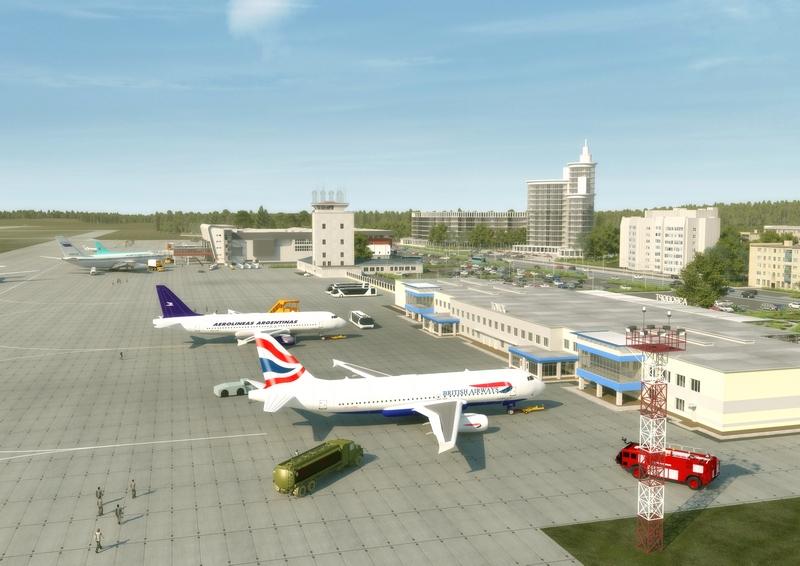 Зал регистрации аэропорта