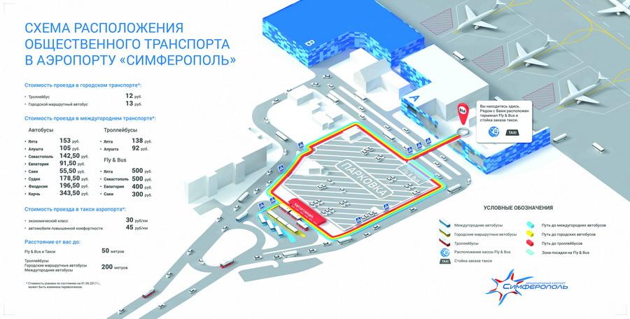 Схема автостанции аэропорта