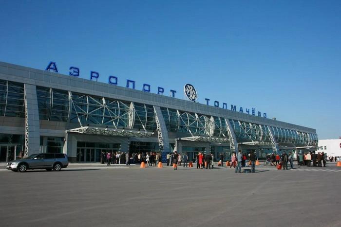 Аэропорт Толмачево, внешний вид