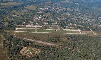 Аэропорт Хурба с высоты