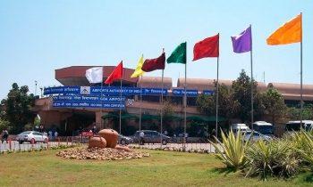Аэропорт Даболим встречает туристов