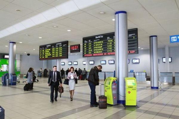 Вид в терминале аэропорта