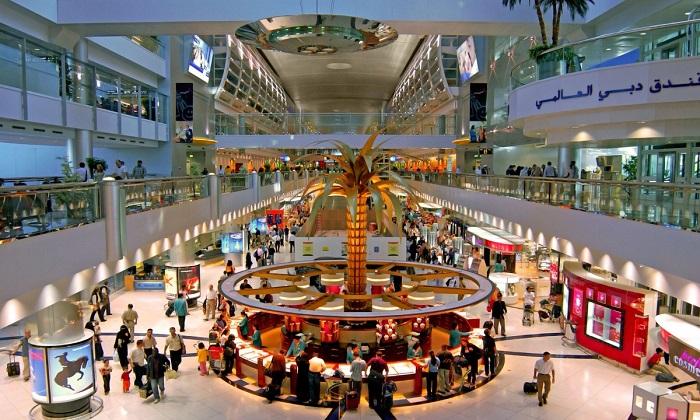 Интерьеры авиатерминалов аэропорта Дубай