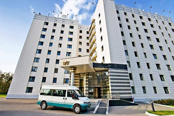 Гостиница на территории аэропорта Домодедово