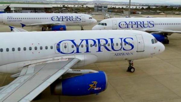 Самолет авиакомпании Cyprus
