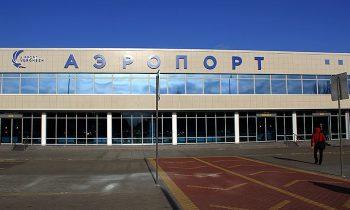 Воронежский аэровокзал, вид снаружи