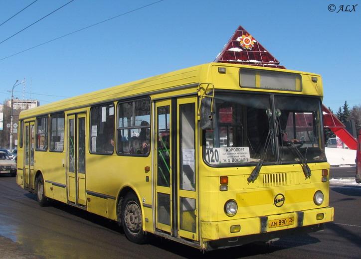 Автобус №120 из воздушного порта Чертовицкое в Воронеж