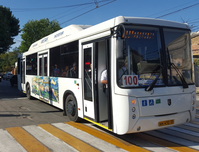 Автобус от Каспийска до Махачкалы
