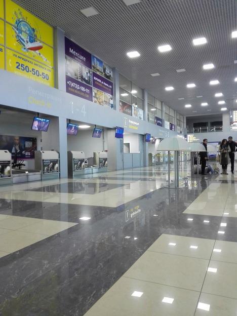 Аэровокзал Чертовицкое изнутри
