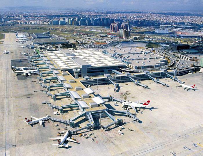 Аэропорт имени М. К. Ататюрка – гордость Турции
