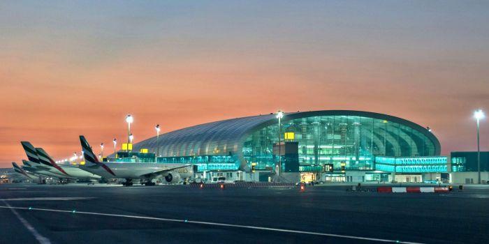 Общий вид аэропорта
