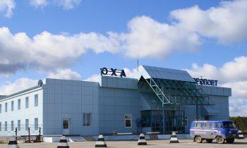 Здание аэропорта сегодня
