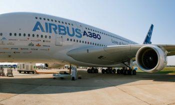 Вид самолёта А380
