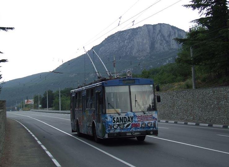 Маршрут троллейбуса