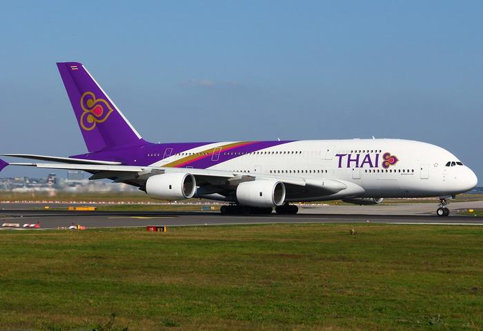 Воздушное судно Таиландского авиаперевозчика