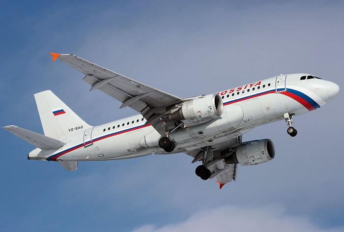 Аэробус модель A319 авиакомпании Россия