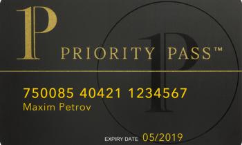 Карта Priority Pass