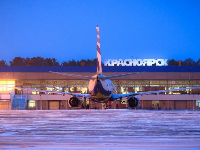 Авиакомплекс Емельяново в Красноярске