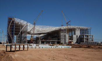 Строительство нового авиатерминала