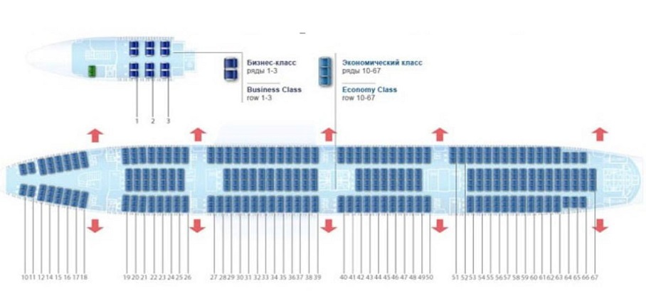 Схема посадочных мест
