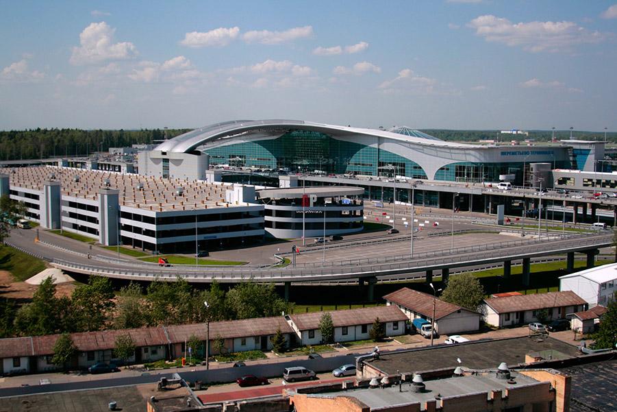 Вид аэропорта Шереметьева внушает уважение