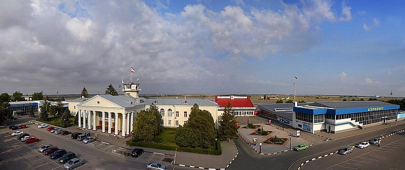 Так аэропорт выглядит сегодня