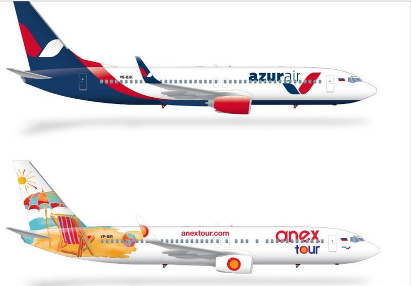 Внешний вид Боинг 737-800