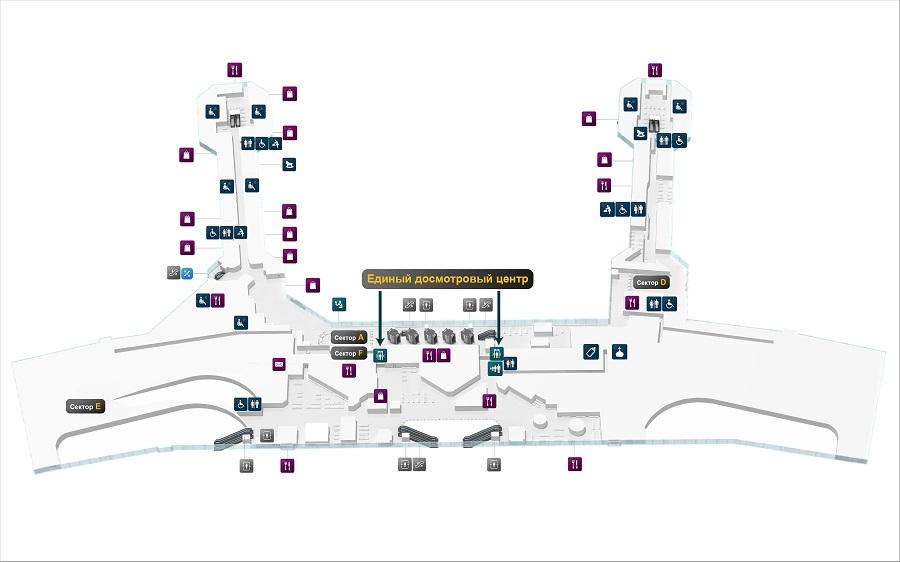 Карта второго этажа