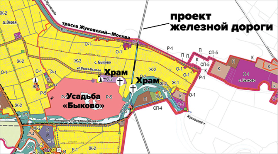 Схема ж/д дороги