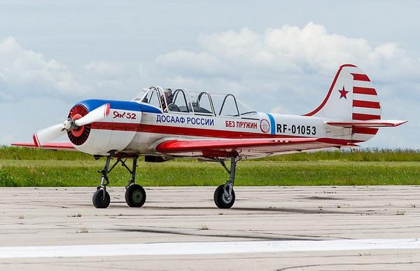 Чемпионат высшего пилотажа на Як-52