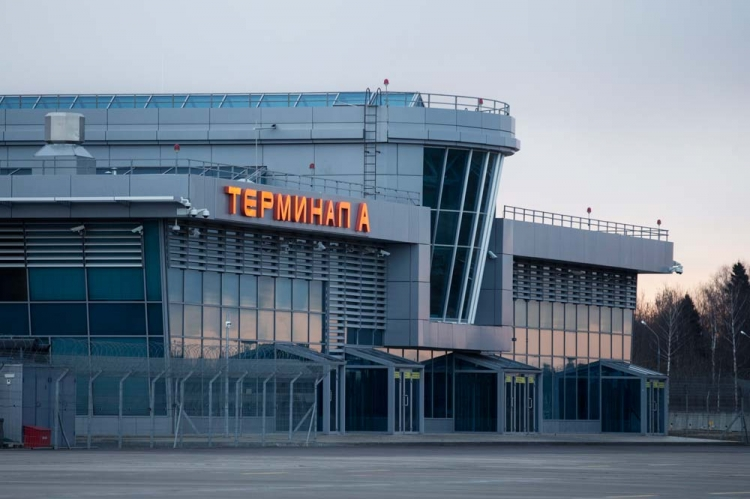 Под литерой А скрывается бизнес-терминал аэропорта