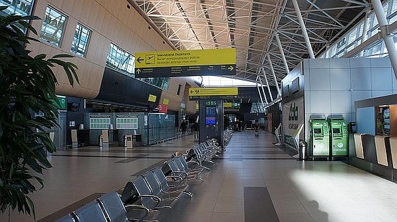 Интерьер терминала 1А