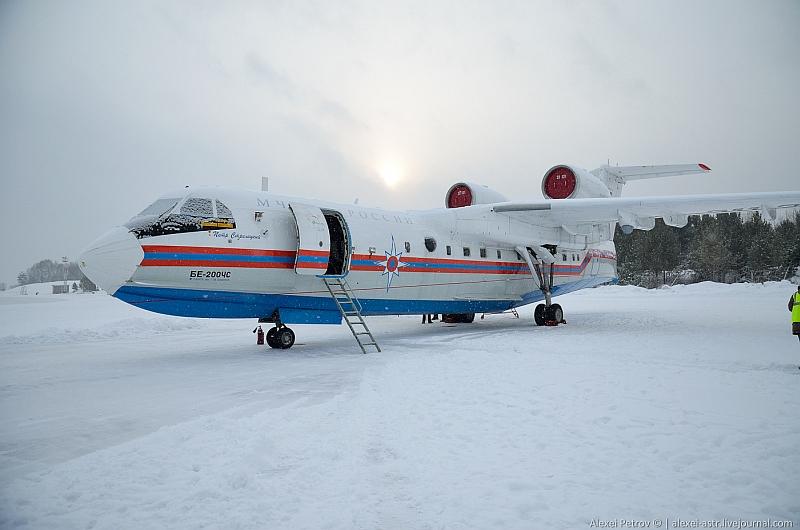 Самолет Бе-200ЧС