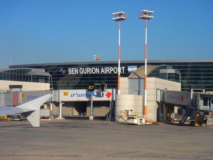 Вид на аэропорт Бен-Гурион