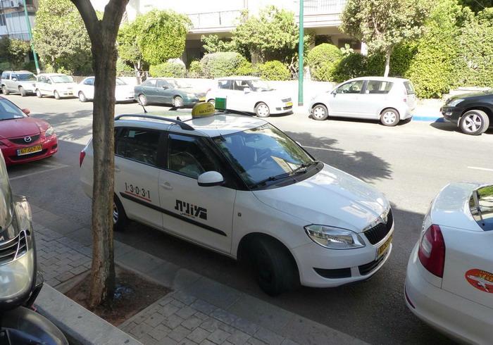 Израильское такси