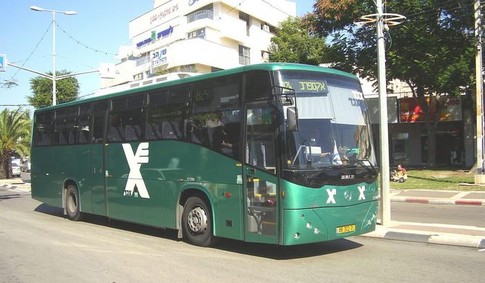 Израильский автобус